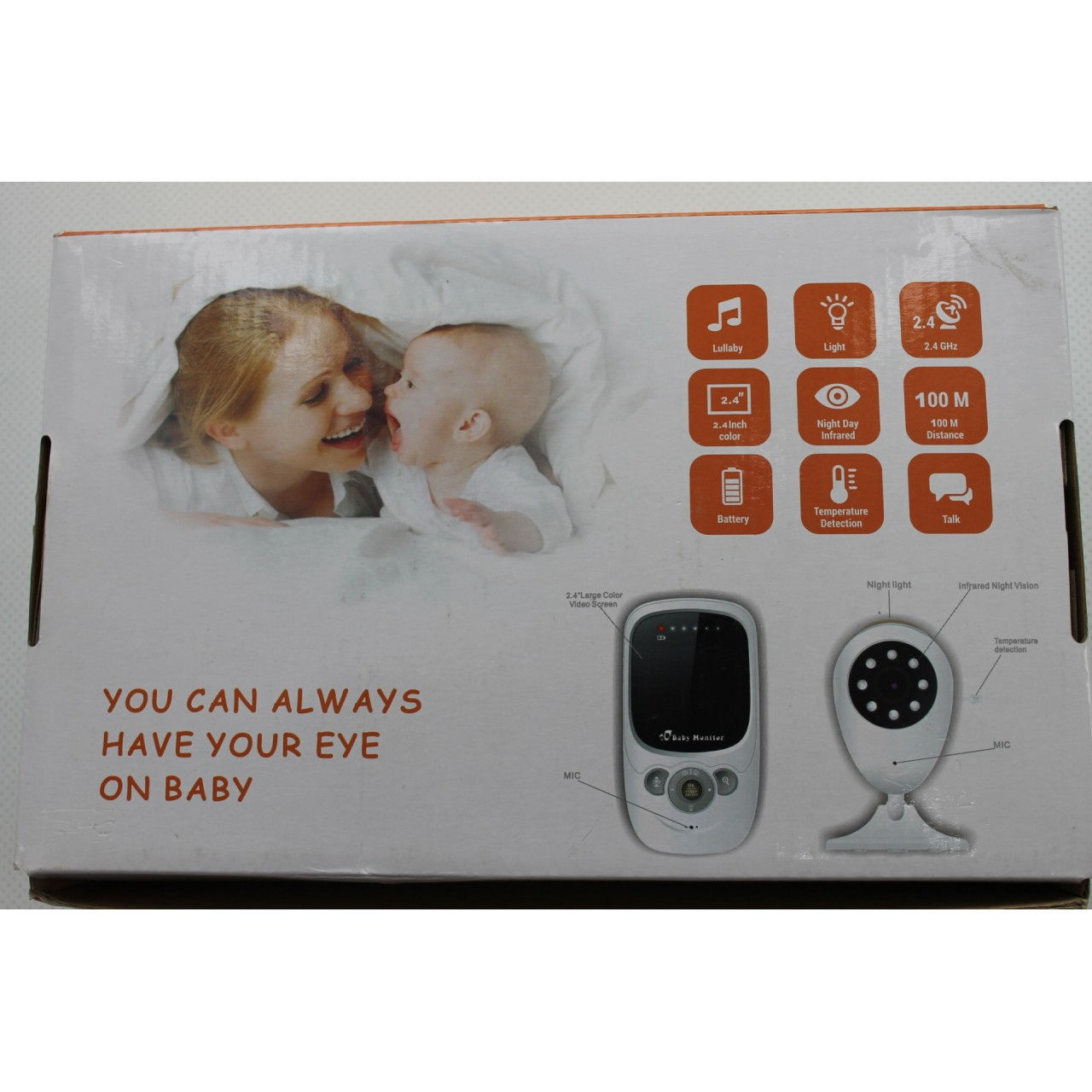 Видеоняня Wireless Digital Video Baby Monitor 2,4